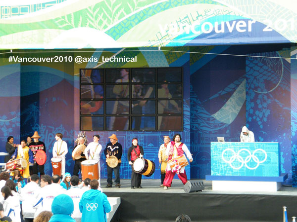 Game Opening Ceremonies in Athletes Village