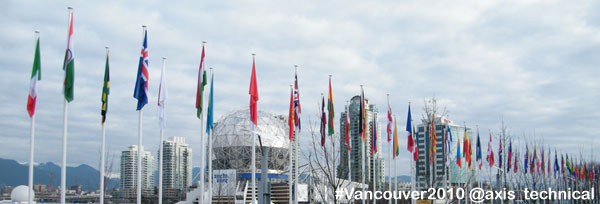 International Flags at Athletes Village