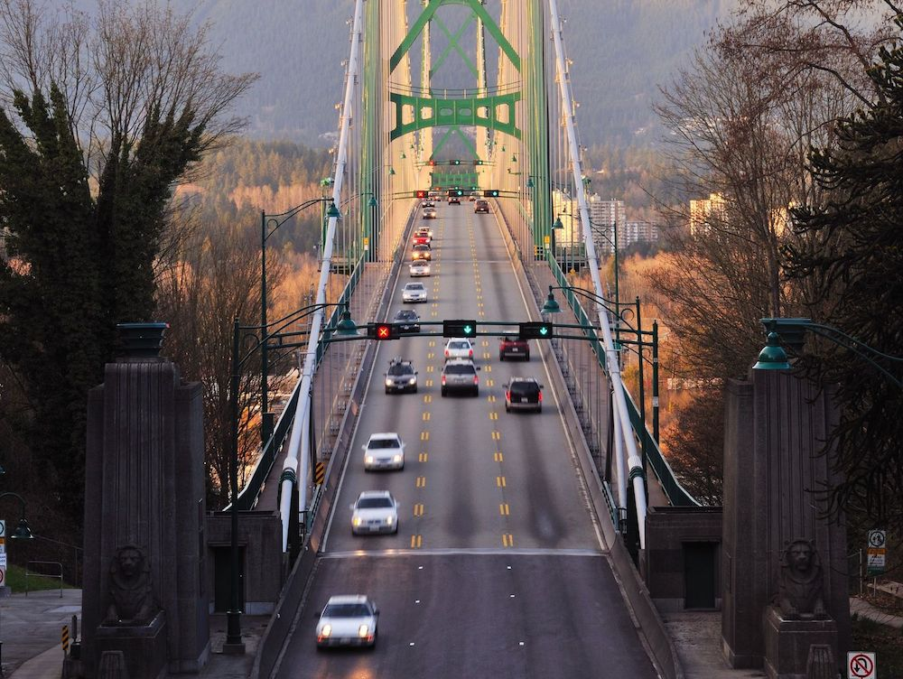 Lions Gate Bridge - North Vancouver