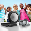 Students with the TOA Infrared Speaker System for Education